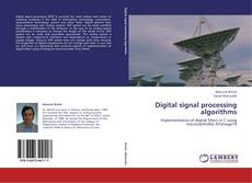 Bookcover of Digital signal processing algorithms