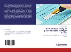 Capa do livro de Comparative study of personal loans in major banks