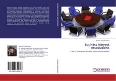 Buchcover von Business Interest Associations