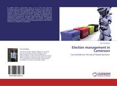 Borítókép a  Election management in Cameroon - hoz