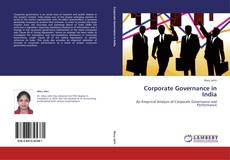 Copertina di Corporate Governance in India