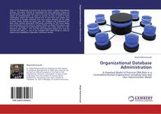 Capa do livro de Organizational Database Administration
