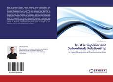 Buchcover von Trust in Superior and Subordinate Relationship