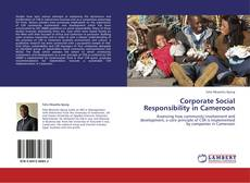 Buchcover von Corporate Social Responsibility in Cameroon