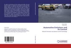 Automotive Emissions and Its Control kitap kapağı