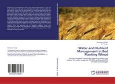Обложка Water and Nutrient Management in Bed Planting Wheat