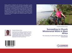 Capa do livro de Succeeding in Church Missionarial Work in West Africa