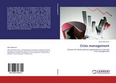 Couverture de Crisis management