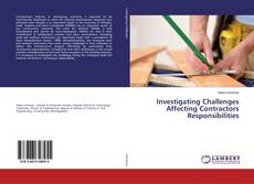 Bookcover of Investigating Challenges Affecting Contractors Responsibilities