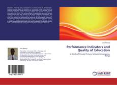 Bookcover of Performance Indicators and Quality of Education