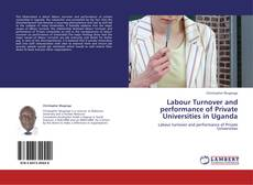 Bookcover of Labour Turnover and performance of Private Universities in Uganda