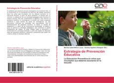 Portada del libro de Estrategia de Prevención Educativa