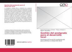 Обложка Gestión del postgrado para el desarrollo local