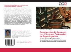 Portada del libro de Desinfección de Agua con Luz UV en una Comunidad de Bajos Ingresos
