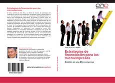 Portada del libro de Estrategias de financiación para las microempresas