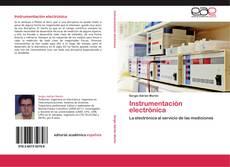 Portada del libro de Instrumentación electrónica