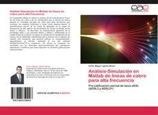 Обложка Análisis-Simulación en Matlab de líneas de cobre para alta frecuencia