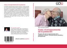 Portada del libro de Cuba; el envejecimiento de la población