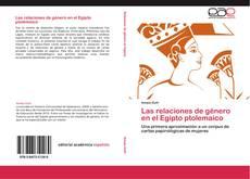 Las relaciones de género en el Egipto ptolemaico kitap kapağı