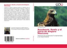 Portada del libro de Nussbaum, Rawls y el Juicio de Amparo Mexicano