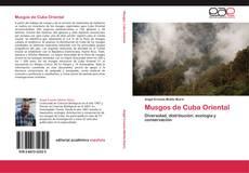 Portada del libro de Musgos de Cuba Oriental