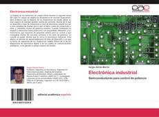 Bookcover of Electrónica industrial