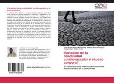 Buchcover von Variación de la reactividad cardiovascular y el peso corporal