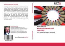 Portada del libro de Profesionalización docente