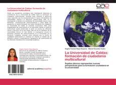 Borítókép a  La Universidad de Caldas: formación de ciudadanía multicultural - hoz