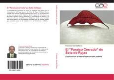 """Portada del libro de El """"Paraíso Cerrado"""" de Soto de Rojas"""