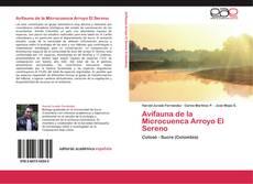 Couverture de Avifauna de la Microcuenca Arroyo El Sereno