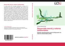 Portada del libro de Desarrollo moral y valores ambientales