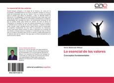 Bookcover of Lo esencial de los valores
