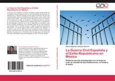 Portada del libro de La Guerra Civil Española y el Exilio Republicano en México