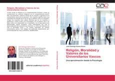 Portada del libro de Religión, Moralidad y Valores de los Universitarios Vascos
