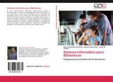 Capa do livro de Sistema Informático para Bibliotecas