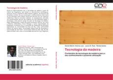 Capa do livro de Tecnologia da madeira