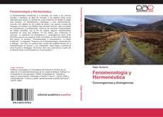 Copertina di Fenomenología y Hermenéutica