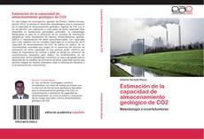 Bookcover of Estimación de la capacidad de almacenamiento geológico de CO2