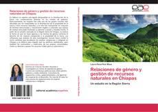 Buchcover von Relaciones de género y gestión de recursos naturales en Chiapas
