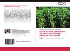 Portada del libro de Estudio sobre poblaciones de insectos en maíz y daños en los cultivos