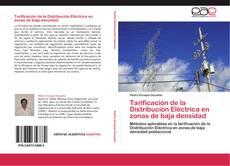 Copertina di Tarificación de la Distribución Eléctrica en zonas de baja densidad
