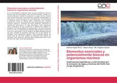 Capa do livro de Elementos esenciales y potencialmente tóxicos en organismos marinos