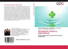 Bookcover of Acuaponia: bases y alternativas