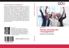 "Buchcover von Temas actuales del ""management"""