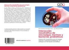 Обложка Interacción mixotrófica de microalgas marinas y bacterias probióticas