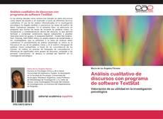 Buchcover von Análisis cualitativo de discursos con programa de software TextStat