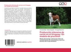 Portada del libro de Producción intensiva de carne en el Uruguay: Un modelo de precisión