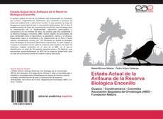 Capa do livro de Estado Actual de la Avifauna de la Reserva Biológica Encenillo