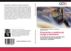 Portada del libro de Evaluación y análisis de riesgo a desastres